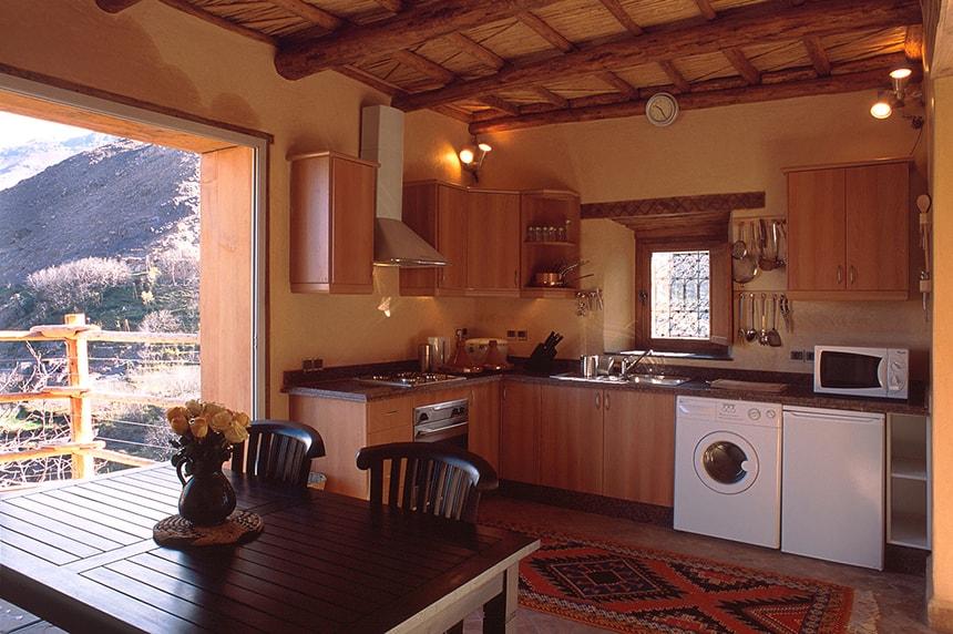 Apartment Suite kitchen, Kasbah du Toubkal