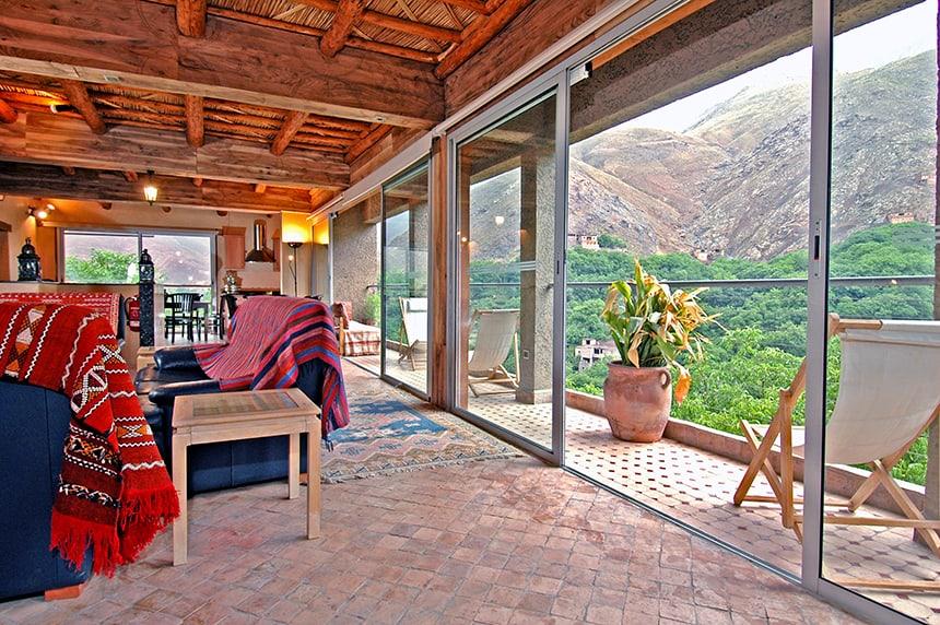 Apartment Suite lounge, Kasbah du Toubkal