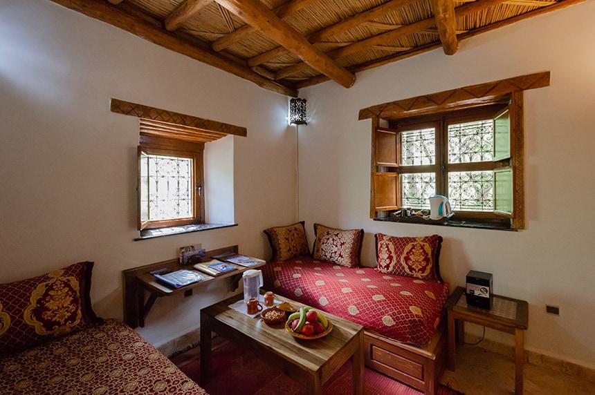 Kasbah du Toubkal's Garden Suite