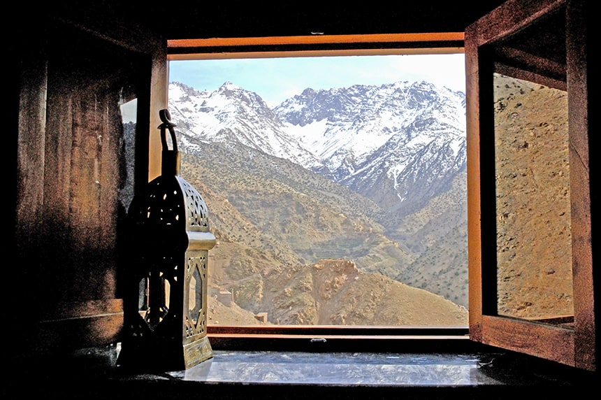 A room with a view, Azzaden Trekking Lodge
