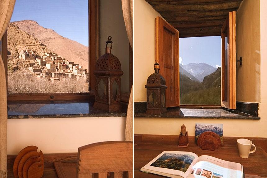 Views in all directions! Standard Room, Kasbah du Toubkal