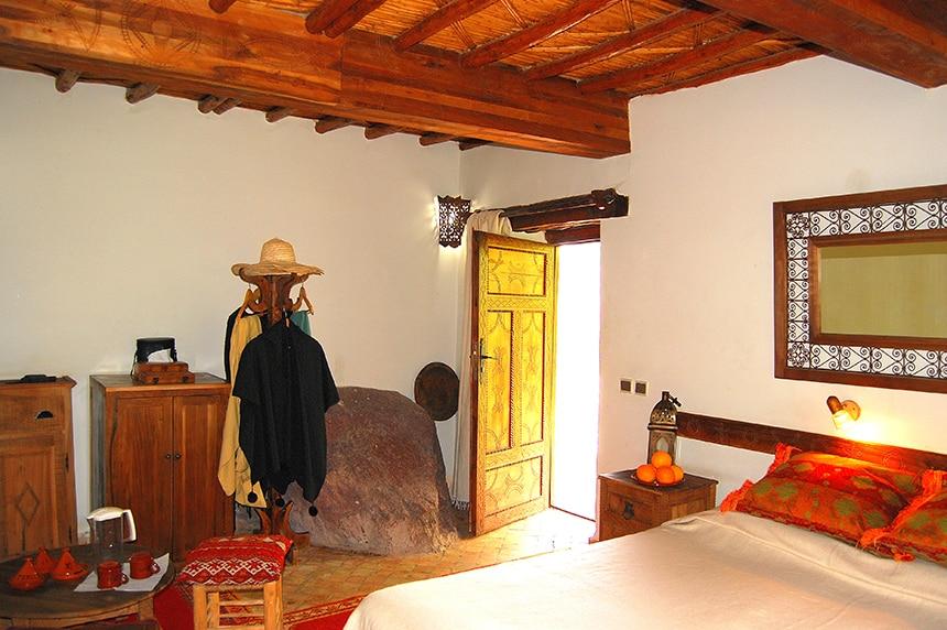 Traditional Berber design. Superior Room, Kasbah du Toubkal
