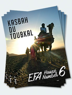 Covers of the twenty-first edition of the Kasbah du Toubkal magazine