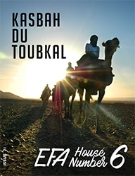 The cover of the twenty-first edition of the Kasbah du Toubkal magazine