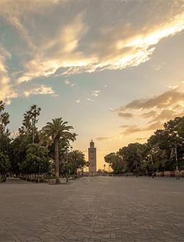 Marrakech in lockdown