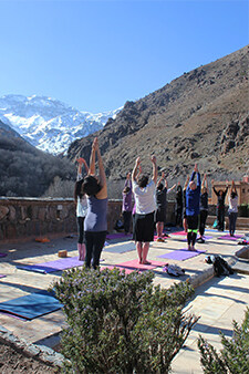 Yoga retreats at the kasbah