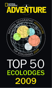 Kasbah du Toubkal awarded Top 50 Eco-Lodges 2009 by the editors of National Geographic ADVENTURE magazine