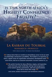 Kasbah du Toubkal corporate brochure