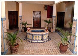 Dar Imlil courtyard