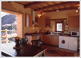Garden House kitchen