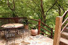Junior Suite private shaded terrace