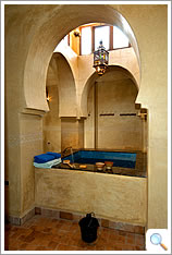 The hammam at the Kasbah