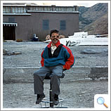Hajj Maurice, the unofficial location manager for Kundun