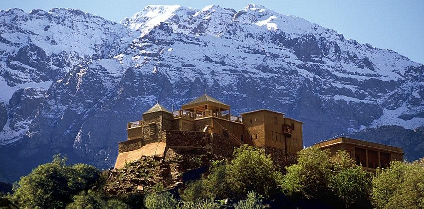 Kasbah du Toubkal in situ
