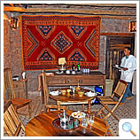 Azzaden Trekking Lodge dining area