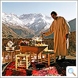 Tea at Azzaden Trekking Lodge