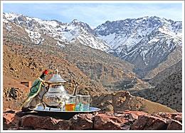 View of the Azzaden valley from Azzaden Trekking Lodge