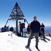 The summit of Jbel Toubkal