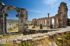 The Roman ruin of Volubilis