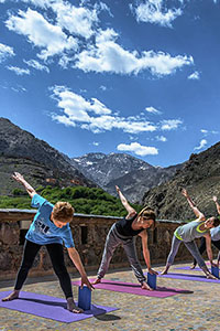 Yoga at Kasbah du Toubkal
