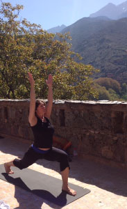Yoga at the Kasbah