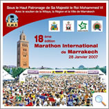 Marrakech Marathon Flyer