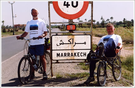 Sponsored cycle event Tangiers to Marrakech