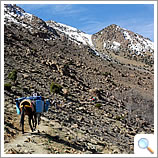 En route to Toubkal
