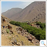 Trail above the Kasbah