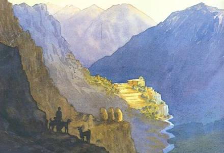 Jim Cooper's lovely watercolour